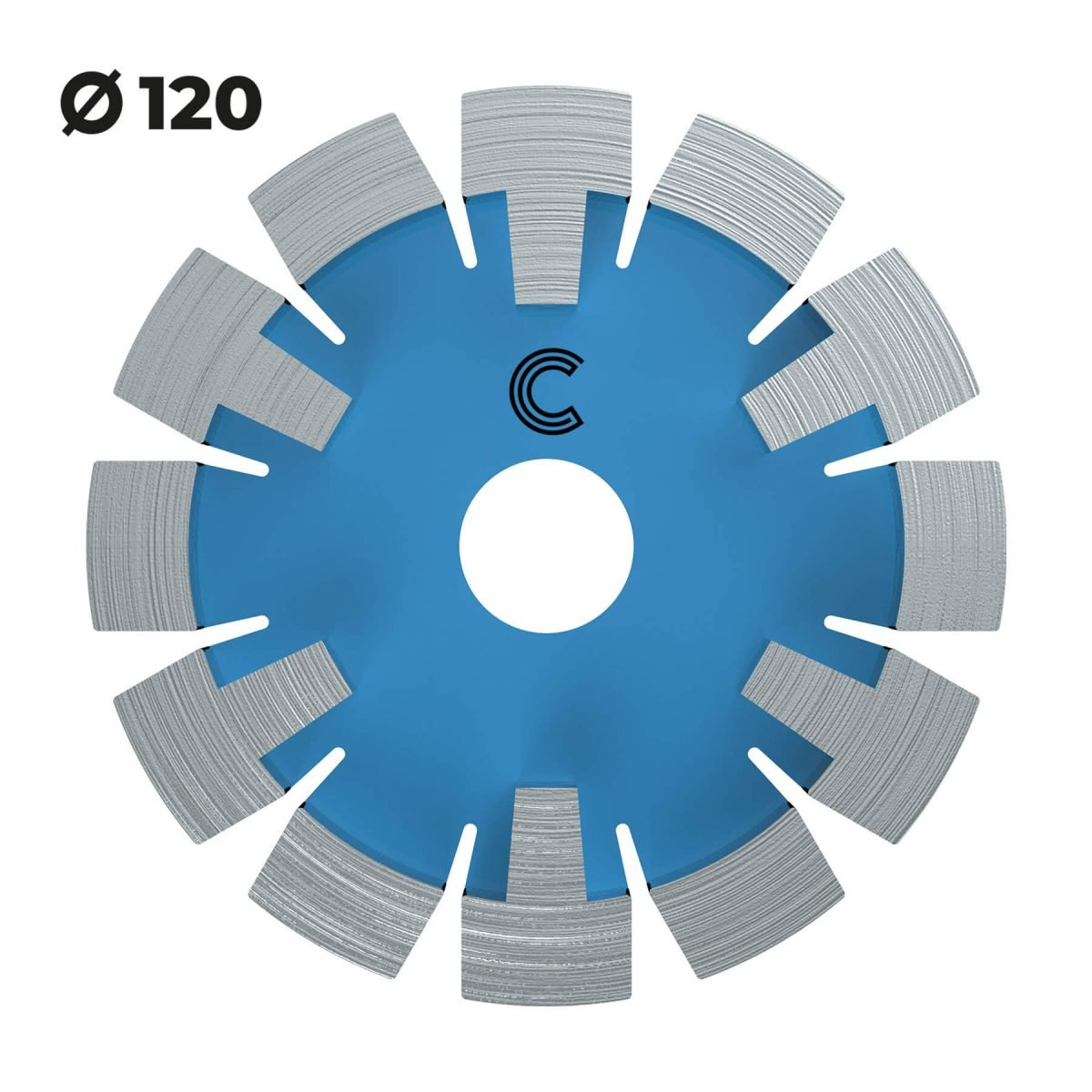 vloerverwarmingsfrees extra harde vloeren 120mm