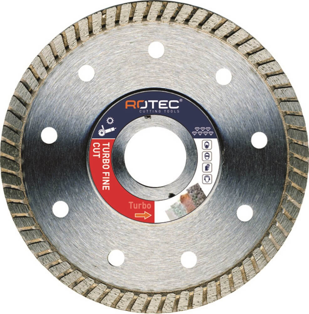 Diamantschijf tegels TURBO FINE CUT 350mm x 25,04mm