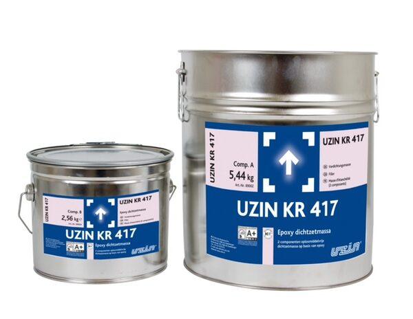 Uzin KR 417 - Dichtzetmassa voor vloerverwarmingsleidingen - 20KG