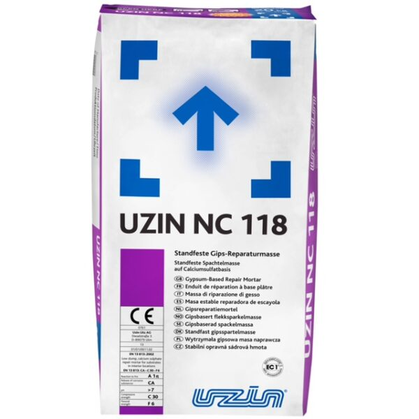 UZIN-NC 118 - Reparatie en uitvlakmassa - 20KG